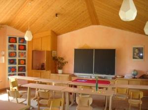 Waldorfschule-Klassenraum